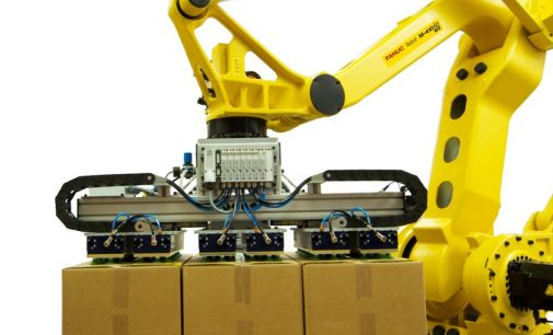 New Generation Robotic Palletiser is Top of the Class