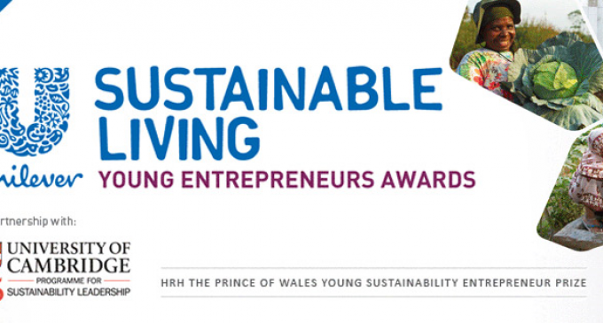 Finalists of First Unilever Sustainable Living Young Entrepreneurs Awards