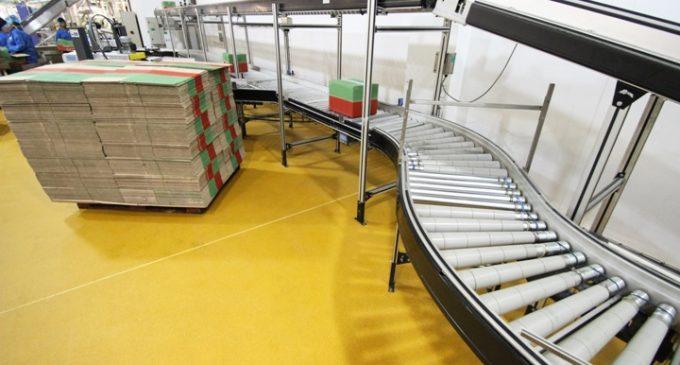 Specialist Resin Flooring For Walkers Snacks