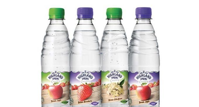 Highland Spring Enters Flavoured Water Category