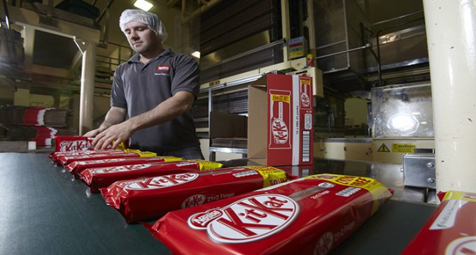 Nestlé is First Major Manufacturer to Become a 'Living Wage' Employer in the UK