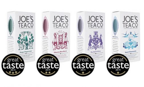 Joe's Tea Co Picks Up Three Gold Stars in Great Taste Awards