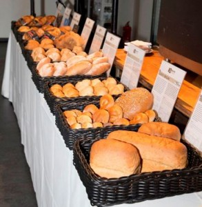 Picture shows the baked goods which have been developed by the bakeries.