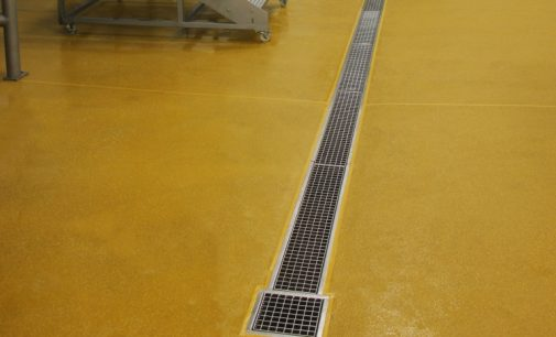 Sweet Hygienic Resin Flooring