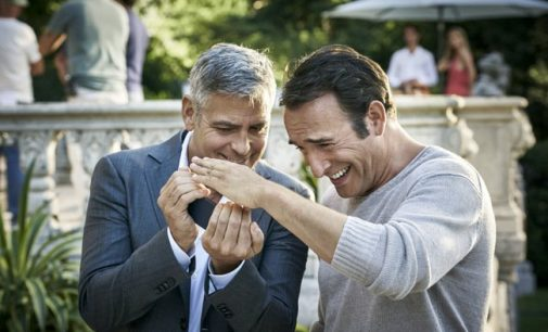 George Clooney and Jean Dujardin Launch New Campaign For Nespresso