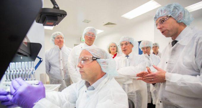 Science programmes accompany new Amgen facility