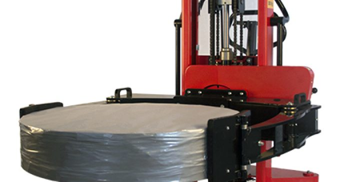 The Reel Rotator from Logitrans lifts and rotates reels of up to 500kg