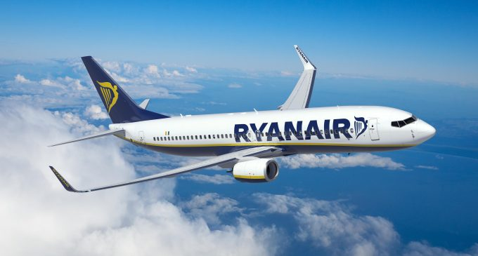 Ryanair Records 20% Traffic Growth in December