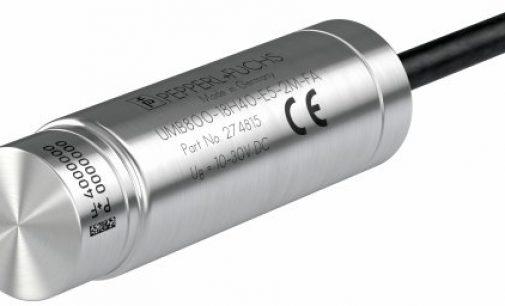 Pepperl+Fuchs presents world's smallest ultrasonic sensor