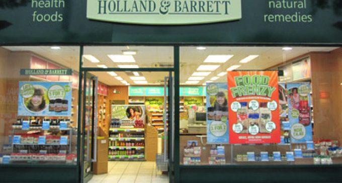 Holland & Barrett sets £1bn sales target