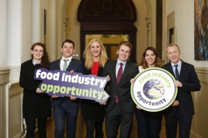 Bord Bia Marketing Fellows (l-r) Caroline Mullen, Mark Halvey, Clodagh Slattery, Enda Gallen, Lynne Andrews and Tim Hill launched a search for 20 ambitious professionals to apply for the Bord Bia Marketing Fellowship programme in association with the UCD Michael Smurfit Graduate Business School / Bord BIA UCD Smurfit Picture Conor McCabe Photography