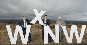 Pictured at the launch of HBAN's WxNW syndicate are (l-r) Ultan Faherty, business angel partnership coordinator, HBAN; John Mullen, chair, WxNW; and Ger Barry, angel investor, WxNW