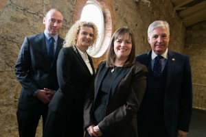 NO FEE FOR REPRO Cavan company first to obtain integrated ISO certification Top management now have to be involved in ISO audits – just one of the ISO changes announced last year. Kore, based in Kilnaleck, Co. Cavan, is the first company in Ireland to obtain integrated ISO certification for both the ISO 9001:2015 and ISO 14001:2015 standards from the NSAI (National Standards Authority of Ireland).  It is estimated that 3,000 companies in Ireland will be affected by the 2015 ISO changes and companies have until end 2018 to comply with the new standard. Pictured from left are Noel Brady, Managing Director, Kore, Caroline Geoghan, CG Business Consulting, Caroline Ashe, Commercial Director, Kore and Fergal O'Byrne, Head of Business Excellence, NSAI. Pic Orla Murray/ Ark Photography  For further information, please contact: Grainne Byrne 087 245 9463 grainne@grainnebyrnepr.ie