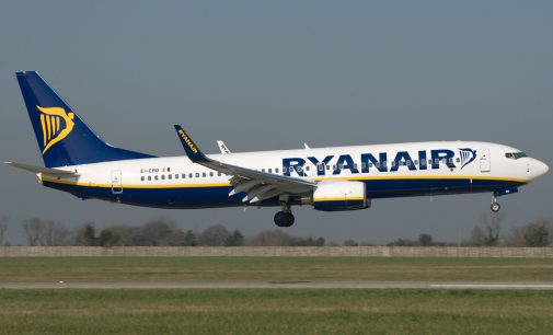 Ryanair Q3 Profit Falls 8 Percent to €95 Million, Traffic Grows 16 Percent