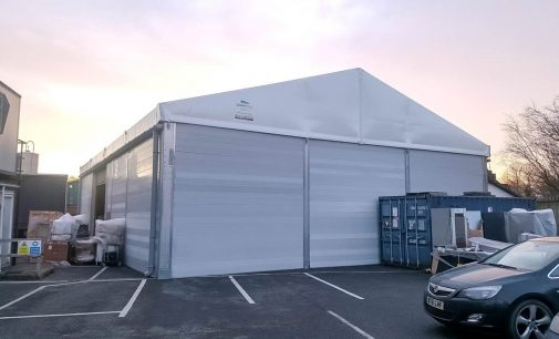 Temporary Building Provides Breathing Space for Irish Catering Supplier