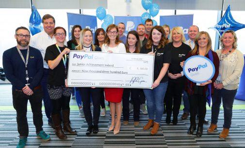 PayPal donates over €55,000 to Irish charities